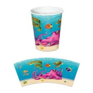 Under The Sea 270ml Hot/Cold Cups 8 Per Pack