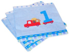 Baby Boy's First Birthday Lunch Napkins 16ct