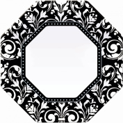 Factory Card and Party Outlet Formal Affair Octagon Dinner Plates 8ct