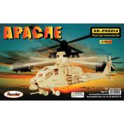 Puzzled Apache 3D Natural Wood Puzzle
