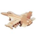 F-18 Hornet - 3D Jigsaw Woodcraft Kit Wooden Puzzle