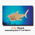 Shark 3D Woodcraft Construction Kit