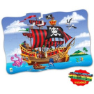 Puzzle Doubles Giant Pirate Ship