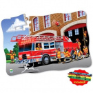 Puzzle Doubles Giant Fire Truck