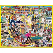 """White Mountain Puzzles Ultimate Trivia Collection Jigsaw 1000 Pieces 60cm X30""""-The Fifties"""