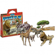 Smart Lab 3-D Puzzle Play African Animals