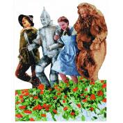 Jigsaw Shaped Puzzle 500 Pieces 38cm x 48cm -The Wizard of Oz - Poppy Field