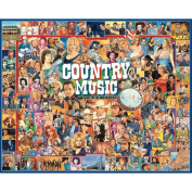 White Mountain Puzzles Ultimate Trivia Collection, Country Music, 1000-pieces