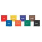 Colour Bean Bags Set of 8