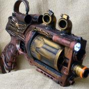 Steampunk gun Victorian Nerf N-Strike Maverick Zombie Fall Out Halo Soft Dart toy
