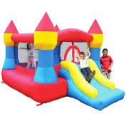 Castle Inflatable Bounce House w/ Slide