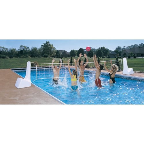 Dunnrite Poolsport 5 1cm 1 Swimming Pool Basketball Hoop And Volleyball Combo Se Ebay