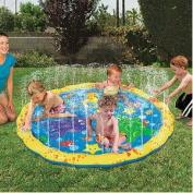 BANZAI PLAY MAT JR. SPRINKLE 'N SPLASH WATER TOY 140cm D