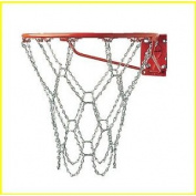 Champion Sports Heavy-Duty Steel Chain Basketball Net