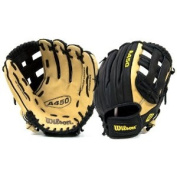 "Wilson 11"" Youth Leather Baseball Glove WTA0450TRDW11"