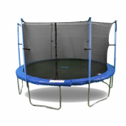 Upper Bounce Trampoline and Enclosure Set Equipped with The New Upper Bounce Easy Assemble Feature, 4.9m
