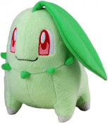 Takara Tomy Pokemon Plush Toy - 15cm Chikorita