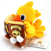 Official Square Enix Final Fantasy Plush Toy - 18cm Chocobo Reading Book
