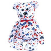 Ty Beanie Baby - Red, White & Blue the Bear