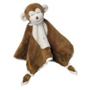 Plush Brown Monkey Lil Snuggler Baby Comforter