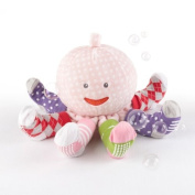 """""""Mrs. Sock T. Pus"""" Plush Octopus with 4 Pairs of Socks"""