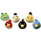 Angry Birds 13cm Basic Plush Set Of 6 [Toy]