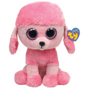 Ty Large Beanie Boos 7136925 Princess Buddy Poodle 21.5 cm Pink