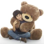 140cm  - Sunny Cuddles, Life Size Huggable & Soft, Light brown Plush Teddy Bear, by Giant teddy