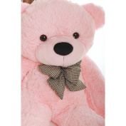 Lady Cuddles - 80cm  - Super Soft & Huggable, Pink Giant Teddy Plush Bear
