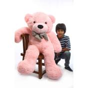 Lady Cuddles - 120cm  - Super Soft & Huggable, Pink Plush Teddy Bear By Ginat Teddy