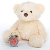 Smiley Chubs - 80cm  - Irresistibly Cute & Extra Plump, Vanilla Cream, Giant Teddy Plush Teddy Bear