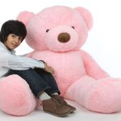 Gigi Chubs - 170cm  - Chubby, Cute & Cuddly, Pink Plush Huge Teddy Bear, by Giant Teddy