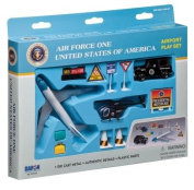 Air Force One 9 Piece Play set with presidential vehicles