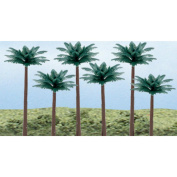 "Woodland Scenics Palm Trees, 6 per pkg, 3""-13cm"