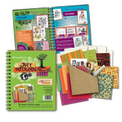 Art Journal Kit-Lime Green