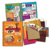 Art Journal Kit-Orange