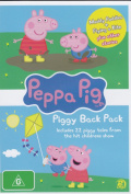 Peppa Pig: Piggy Back Pack 1  [2 Discs]