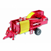 Bruder Grimme SE 75-30 Potato Digger Replica with Imitation Potatoes