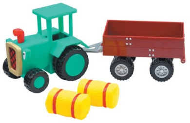bob the builder travis vehicle and trailer by born to play