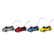 EB Excalibur 9357Y Micro Zoomers 1:58 Scale Mini Cooper - Yellow