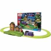 Thomas and Friends Glow in the Dark Stormy Night in Sodor Complete Set with Motorised Engine