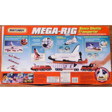matchbox mega rig space shuttle instructions