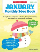 January Monthly Idea Book, Grades Prek-3