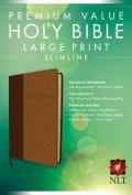 Premium Value Large Print Slimline Bible-NLT [Large Print]