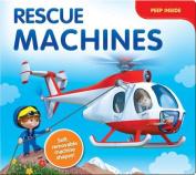Rescue Machines (Peep Inside) [Board book]