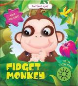 Fidget Monkey (Curious Eyes) [Board book]