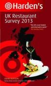 Harden's UK Restaurant Survey 2013