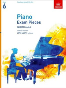 Piano Exam Pieces 2013 & 2014, ABRSM Grade 6