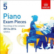Piano Exam Pieces 2013 & 2014 CD, ABRSM Grade 5
