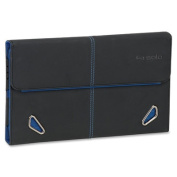Protective Case for iPad, iPad 2/3rd Gen/4th Gen, Black/Blue
